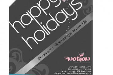 Happy Holidays from 24Notion