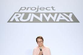 Bryce Black working it out on Project Runway
