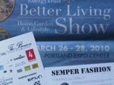 Better Living Show-Eco fashion show sponsored by 24Notion