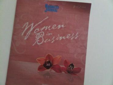 Portland Business Journal 2010 Women In Business- 24Notion Founder(Interview)