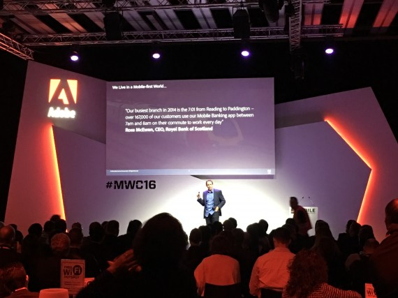 Adobe Session MWC16: Mobile is the Strategy